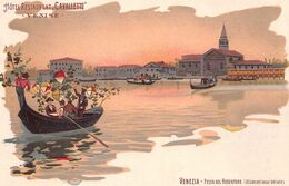 Publicité - N°68540 - Venise - Hôtel Restaurant Cavalletto - Venezia - Festa Del Redentore (Al Lido Pel Levar Del Sole) - Publicidad