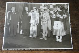Aalst Carnaval  1957 Prins Don Marco  Bal Oude Garde Foto - Carnival