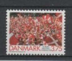 (SA0653) DENMARK, 1992 (Denmark - European Football Champion). Mi ## 1035. MNH** Stamp - Nuovi