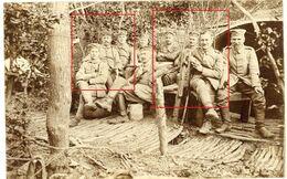 Carte Photo-55(Meuse)Verdun.Rabenwald.Höhe 304.Moirey Wald.Waldlager.Deutsche Soldaten -allemande Guerre 14-18.WWI - 1914-18