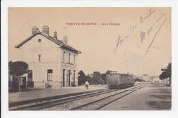 CP 54 NEUVES MAISONS Gare De Chaligny - Neuves Maisons
