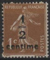 FR 1743 - FRANCE N° 279B Neuf** Semeuse Surchargée - 1906-38 Semeuse Camée