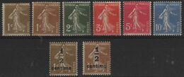 FR 1744 - FRANCE N° 277A/279B Neufs** Semeuse Surchargée - 1906-38 Semeuse Camée