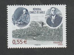 """TIMBRE -  2008  -   Mémorial Charles De Gaulle à Colombey  -  N° 4243   -""""portrait""""          Neuf Sans Charnière - Unused Stamps"""