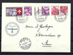 SUISSE Poste Aérienne 1939: LSC De Zürich Pour Berne Affranchie à 0,70 Fr., CAD Spécial - Airmail