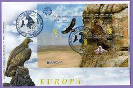 Kazakhstan 2019.  FDC. Europe. Europa - CEPT. National Birds. Golden Eagle. - Kazakhstan