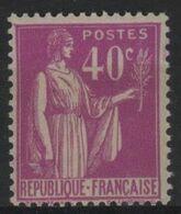 FR 1746 - FRANCE N° 281 Neuf** Type Paix - 1932-39 Peace