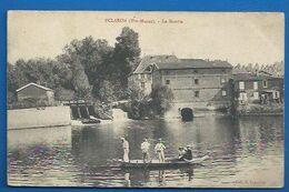 52 * ECLARON -  LE MOULIN - PROMENADE EN BARQUE -  BEAU PLAN - 1910 - Eclaron Braucourt Sainte Liviere