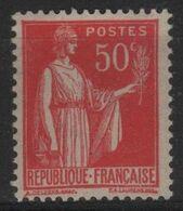 FR 1747 - FRANCE N° 283 Neuf** Type Paix - 1932-39 Peace