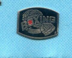 Rare Pins Boxe Boxing Z224 - Pugilato
