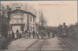 Orly Sur Morin , Train En Gare , Animée - Frankreich