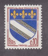 TIMBRE FRANCE N° 1353 NEUF ** - 1941-66 Coat Of Arms And Heraldry