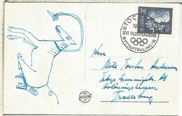 SUECIA STOCKHOLM 1956 JUEGOS OLIMPICOS MELBOURNE PRUEBAS HIPICA EQUESTRIAN - Verano 1956: Melbourne