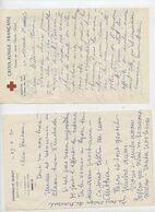 Saint Claude, Pharmacie Burlet, 3 Docs, Lettre à Nadau à St Gaudens, Croix Rouge, Comité De St Claude - Organizations