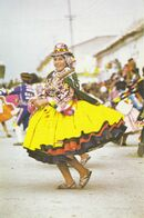 Bolivie :  Oruro's Carnival , Indian Dancer  ///   REF . Sept.  20   ///  N° 12.652 - Bolivia