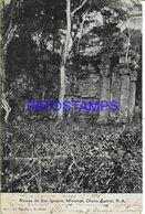 142375 ARGENTINA MISIONES CHACO AUSTRAL RUINS RUINAS DE SAN IGNACIO CANCEL AMBULANT FERROCARRIL ENTRE RIOS 1905 POSTCARD - Argentina