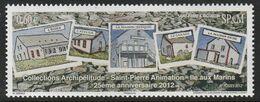ST PIERRE Et MIQUELON - N°1048 ** (2012) - Unused Stamps