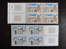 FRANCE - BLOC DE 4 - 1983 UNESCO YT 75-76 MNH ** - Ungebraucht