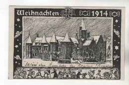 +392, WK I, FEldpost, Weihnachten, Bei Roeselare,  Belgischen Provinz Westflandern - Weltkrieg 1914-18