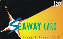 USA - Seaway Prepaid Card $20, Exp.date 31/12/97, Used - Unclassified