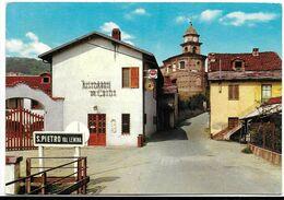 San Pietro Val Lemina (Trento). Entrata Al Paese. Insegna Birra Dreher Al Centro. - Italia