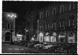 Forlì - Piazza Saffi. Insegna Luminosa Birra Itala Pilsen Sul Primo Portico Al Centro. - Forlì