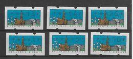 België  ATM N° 80  Xx Postfris Cote 70 Euro - 1980-99