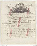 Port Maurice Porto Maurizio Imperia 17 Ventose An XII * Commissariat Relations Commerciales Général Menou Vianelly ** - 1792-1815 : Departamentos Conquistados