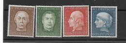 Bund  N° 76/79  X Scharnier - Ungebraucht