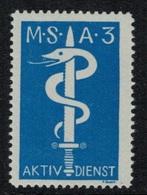 Suisse /Schweiz/Switzerland // Vignette Militaire // Sanitaire , M.S.A. 3 - Viñetas