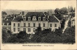 CPA Saint Aignan Loir Et Cher, Groupe Scolaire - Other Municipalities