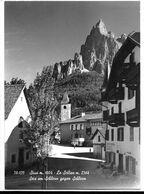 Siusi (Bolzano). Veduta. Bottone Birra Forst A Destra. - Bolzano