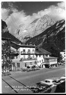 Alba Di Canazei (Trento). Albergo Alpino Al Cavalletto. Bottone Birra Forst Al Centro. - Trento