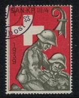 Suisse /Schweiz/Switzerland // Vignette Militaire // Sanitaire , San.Kp.III/4 (olive) - Viñetas