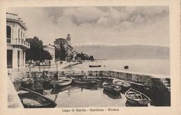 CARTOLINA NON VIAGGIATA LAGO DI GARDA GARDONE (KP1678 - Other Cities