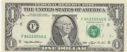 BANCONOTA 1 DOLLARO STATI UNITI UNC (KP1816 - Billets De La Federal Reserve (1928-...)
