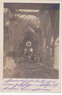( 02 ) - Anizy-le-Château Inneres Von Kirche Carte Photo Allemande 1° Guerre - Guise