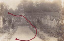 ( 02 ) -Trosly-Loire Friedhof Cimetière   Carte Photo Allemande 1° Guerre - Frankreich