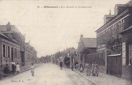( 02 ) - Ribemont Gendarmerie Carte  Allemande 1° Guerre - Frankreich