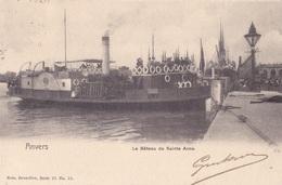 Anvers Le Bâteau De Sainte Anne Nels Série 25 N° 55 Circulée En 1905 - Antwerpen