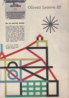 (pagine-pages)PUBBLICITA' OLIVETTI  Epoca1957/372. - Altri
