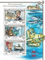NIGER 2015 - Oceanographic Museum, Diving - YT 2962-4 - Tauchen