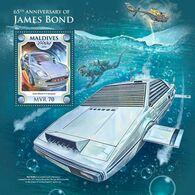 MALDIVES 2018 - J. Bond Diving - Mi B1200 - Tauchen