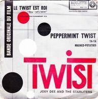 JOEY DEE - Peppermint Twist -  EP - 45 Rpm - Maxi-Single