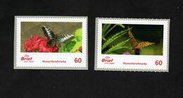 BRD - Privatpost - Brief Und Mehr - 2 W - Schmetterlinge Butterfly - Butterflies