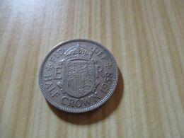 Grande Bretagne - Half Crown Elizabeth II 1958.N°631. - 1902-1971 : Monete Post-Vittoriane