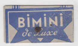BIMINI DE LUXE  RAZOR  BLADE - Lames De Rasoir