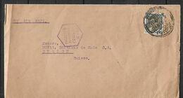 IRAQ 1940 PALESTINE PASSED CENSOR Cover Sent To Zurich 1 Stamp COVER USED - Irak
