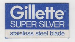 GILLETTE SUPER SILVER RAZOR  BLADE - Lames De Rasoir