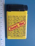Briquet Publicitaire Usagé  - Just Be - Autres